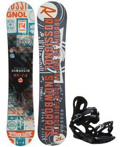 Rossignol Trickstick CYT Amptek Snowboard w/ M3 Pivot 4 Bindings