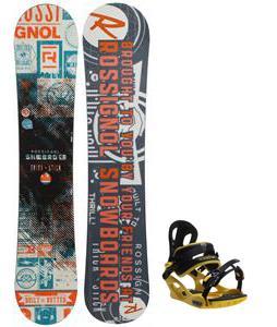 Rossignol Trickstick CYT Amptek Snowboard w/ M3 Pivot Rockstar Bindings