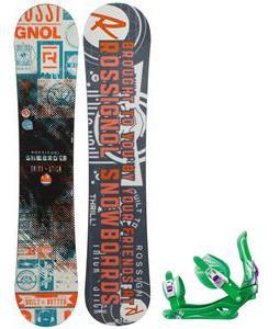Rossignol Trickstick CYT Amptek Snowboard w/  Battle Bindings