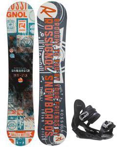 Rossignol Trickstick CYT Amptek Midwide Snowboard w/ Avalanche Summit Bindings