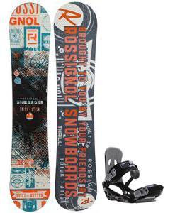Rossignol Trickstick CYT Amptek Midwide Snowboard w/ Sapient Stash Bindings