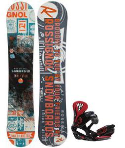Rossignol Trickstick CYT Amptek Midwide Snowboard w/ Sapient Wisdom Bindings