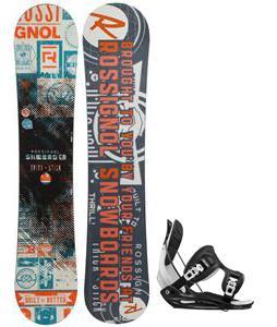 Rossignol Trickstick CYT Amptek Midwide Snowboard w/ Flow Flite Bindings