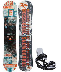 Rossignol Trickstick CYT Amptek Midwide Snowboard w/ M3 Helix 3 Bindings