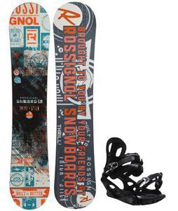 Rossignol Trickstick CYT Amptek Midwide Snowboard w/ M3 Pivot 4 Bindings