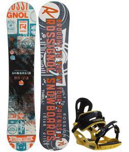 Rossignol Trickstick CYT Amptek Midwide Snowboard w/ M3 Pivot Rockstar Bindings