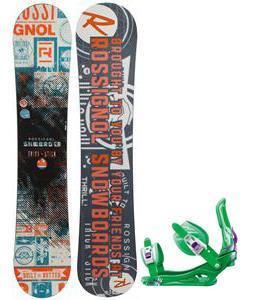 Rossignol Trickstick CYT Amptek Midwide Snowboard w/  Battle Bindings