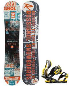 Rossignol Trickstick CYT Amptek Midwide Snowboard w/  Cobra Bindings