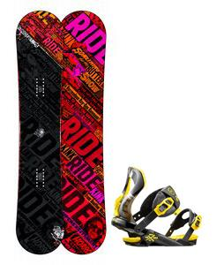 Ride Kink Wide Snowboard w/ Rossignol Cobra Bindings