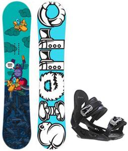 Sierra Stunt Wide Snowboard w/ Avalanche Summit Bindings