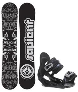 Sapient Outlaw Snowboard w/ Avalanche Summit Bindings