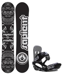 Sapient Outlaw Snowboard w/  Stash Bindings