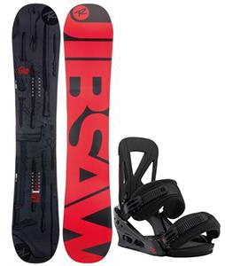 Rossignol Jibsaw Magtek Snowboard w/ Burton Custom Re:Flex Bindings