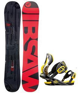 Rossignol Jibsaw Magtek Snowboard w/  Cobra Bindings