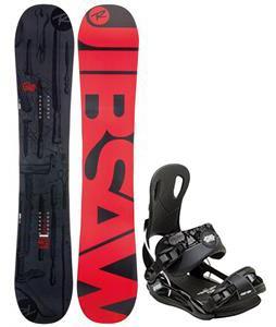 Rossignol Jibsaw Magtek Snowboard w/ Gnu Front Door Bindings