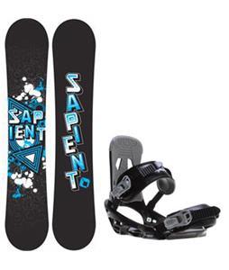 Sapient Trust Wide Snowboard w/  Stash Bindings