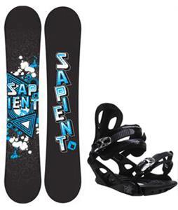 Sapient Trust Wide Snowboard w/ M3 Pivot 4 Bindings