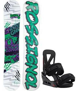 Rossignol District Amptek Wide Snowboard w/ Burton Custom Re:Flex Bindings