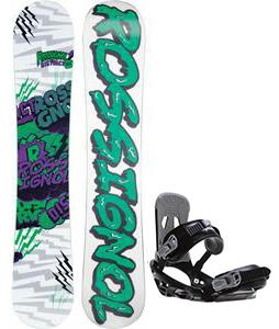 Rossignol District Amptek Wide Snowboard w/ Sapient Stash Bindings