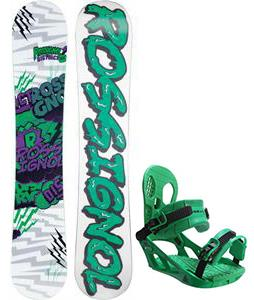 Rossignol District Amptek Wide Snowboard w/ Burton Freestyle Bindings
