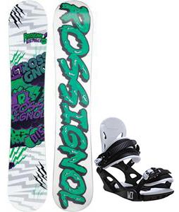 Rossignol District Amptek Wide Snowboard w/ M3 Helix 3 Bindings