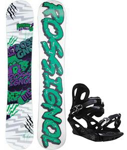 Rossignol District Amptek Wide Snowboard w/ M3 Pivot 4 Bindings