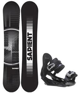 Sapient Sector Wide Snowboard w/ Avalanche Summit Bindings