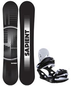 Sapient Sector Wide Snowboard w/ M3 Helix 3 Bindings