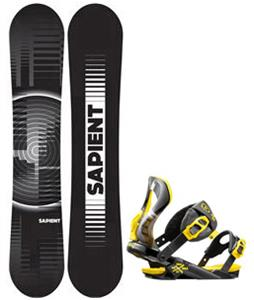 Sapient Sector Wide Snowboard w/ Rossignol Cobra Bindings