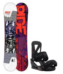 Ride DH2 Wide Snowboard w/ Burton Custom Re:Flex Bindings