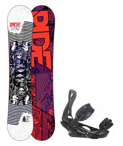 Ride DH2 Wide Snowboard w/ Burton P1.1 Bindings