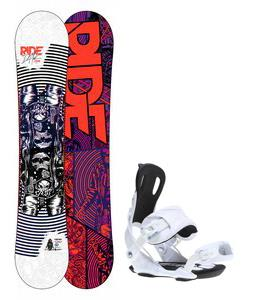 Ride DH2 Wide Snowboard w/ Gnu Weird Bindings
