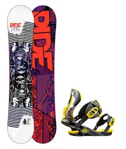 Ride DH2 Wide Snowboard w/ Rossignol Cobra Bindings