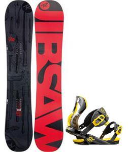 Rossignol Jibsaw Magtek Wide Snowboard w/  Cobra Bindings