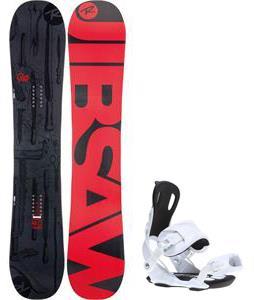 Rossignol Jibsaw Magtek Wide Snowboard w/ Gnu Weird Bindings
