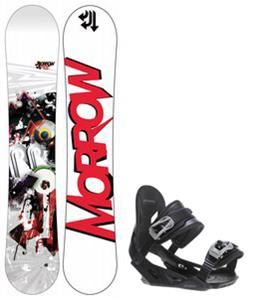 Morrow Radium Wide Snowboard w/ Avalanche Summit Bindings