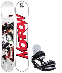 Morrow Radium Wide Snowboard w/ M3 Helix 3 Bindings