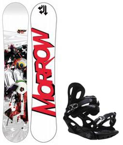 Morrow Radium Wide Snowboard w/ M3 Pivot 4 Bindings