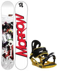 Morrow Radium Wide Snowboard w/ M3 Pivot Rockstar Bindings