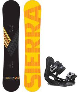 Sierra Reverse Crew Wide Snowboard w/ Avalanche Summit Bindings