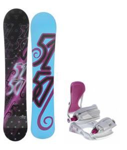 5150 Prism Snowboard w/ Avalanche Serenity Bindings