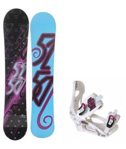 5150 Prism Snowboard w/ LTD LT250 Bindings