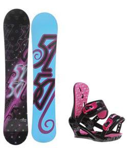 5150 Prism Snowboard w/ Morrow Sky Bindings