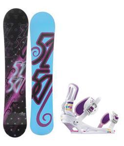 5150 Prism Snowboard w/ Rossignol Myth Bindings