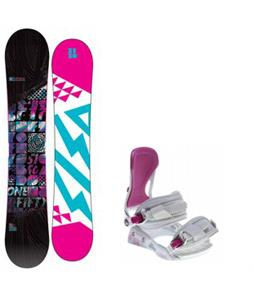 5150 Sienna Snowboard w/ Avalanche Serenity Bindings