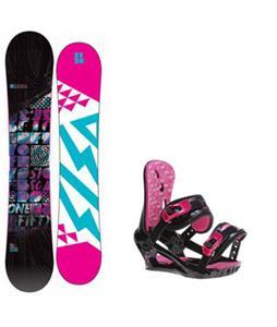 5150 Sienna Snowboard w/ Morrow Sky Bindings