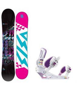 5150 Sienna Snowboard w/ Rossignol Myth Bindings