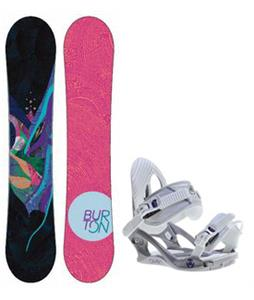 Burton Lux Snowboard w/ K2 Charm Bindings