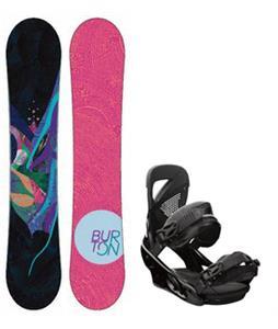 Burton Lux Snowboard w/ Lexa Bindings