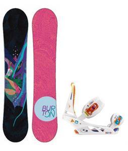 Burton Lux Snowboard w/ Scribe Bindings